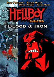 Hellboy animated. Blood & iron cover image
