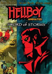 Hellboy animated. Sword of storms cover image