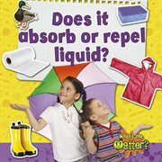 Does it absorb or repel liquid? cover image