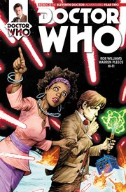 Doctor who: the eleventh doctor: outrun. Issue 2.4 cover image