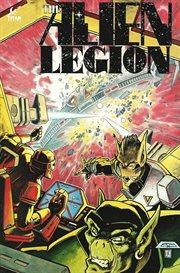 Alien legion: planetfall. Issue 7 cover image