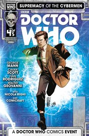 Doctor Who: Supremacy of the Cybermen, Issue 4 cover image
