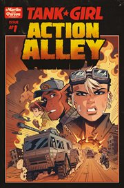 Tank girl: action alley. Issue 1 cover image