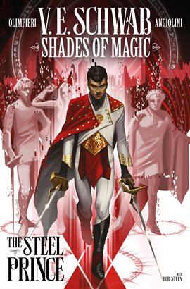 Shades of Magic: The Steel Prince by V.E. Schwab Book cover