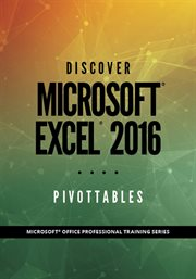 Discover Microsoft ®excel 2016