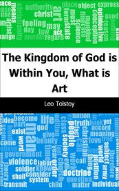 Kingdom of god is within you, what is art cover image