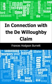In connection with the De Willoughby claim cover image