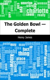 The golden bowl cover image