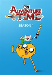 Adventure time. Season 1. The complete first season cover image