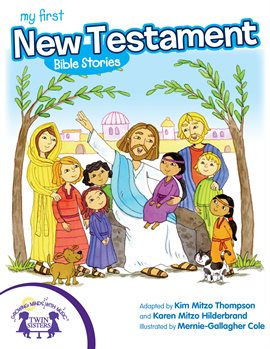 Cover image for My First New Testament Bible Stories