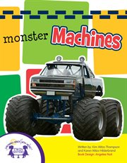 Monster Machines Sound Book