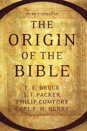 The Origin of the Bible