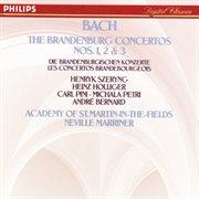 Bach, j.s.: brandenburg concertos nos.1,2 & 3 cover image