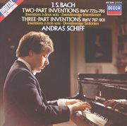 Bach, j.s.: two and three part inventions cover image