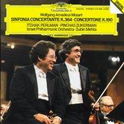 Mozart: sinfonia concertante k.364; concertone k.190 cover image