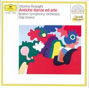 Respighi: ancient airs and dances cover image
