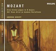 Mozart: eine kleine gigue in g major; ah! vous dirai-je maman variations cover image