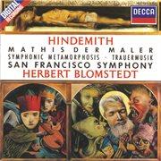 Hindemith: Symphonie 'mathis Der Maler' / Trauermusik / Symphonic Metamorphosis