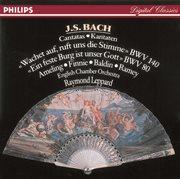 Bach, j.s.: cantatas nos. 80 & 140 cover image