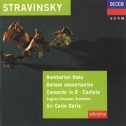 Stravinsky: dumbarton oaks; danses concertantes; concerto in d for strings cover image