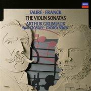 Faure: violin sonata in e minor / franck: violin sonata in a etc cover image