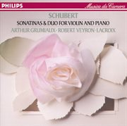 Schubert: sonatina in d; duo in a etc cover image