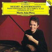 Mozart: piano sonatas k.457 & k.331, fantasias k. 475 & k.397 cover image