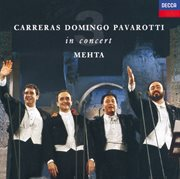 The three tenors - in concert - rome 1990 cover image