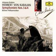 Brahms: symphonies nos.3&4 cover image