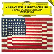 Carter: variations for orchestra / babbitt: correspondences / schuller: spectra for orchestra / cage cover image