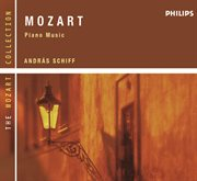 Mozart: piano music cover image