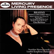 Brahms: piano concerto no. 2 / beethoven: piano sonata no.9 cover image
