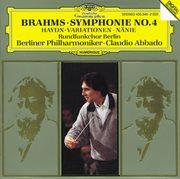 Brahms: Symphony No.4 in E Minor, Op. 98; Haydn Variations, Op. 56a; Nñie, Op. 82