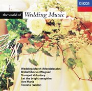 The world of wedding music cover image