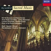 The world of sacred music cover image