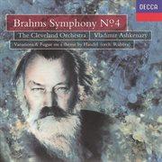 Brahms: Symphony No.4/handel Variations & Fugue