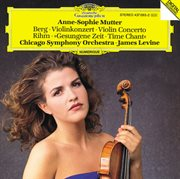 Berg: violin concerto / rihm: time chant (1991/92) cover image