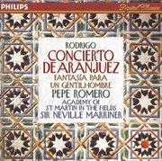 Rodrigo: concierto de aranjuez; fantasia para un gentilhombre, etc cover image