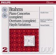 Brahms: Piano Concertos Nos.1 & 2/haydn Variations Etc