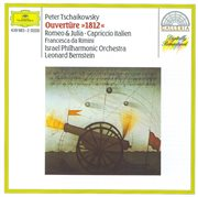 """Tchaikovsky: overture """"1812""""; romeo and juliet; capriccio italien cover image"""