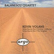 Volans: string quartets nos.2 & 3 cover image
