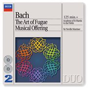Bach, j.s.: the art of fugue; a musical offering cover image