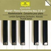 Mozart: piano concertos nos.21 k.467 & 27 k.595 cover image