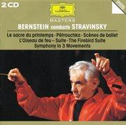 Bernstein conducts stravinsky cover image
