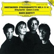 Shostakovich: String Quartets Nos.4, 11 & 14