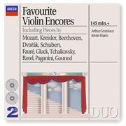 Favourite violin encores cover image