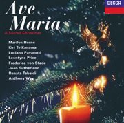 Ave maria - a sacred christmas cover image