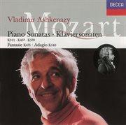 Mozart: piano sonatas nos. 9, 14 & 17/fantasy in c minor/adagio in b minor cover image