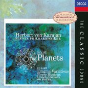 Elgar: enigma variations / holst:the planets cover image