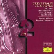 Brahms / Mendelssohn / Tchaikovsky / Beethoven: Great Violin Concertos